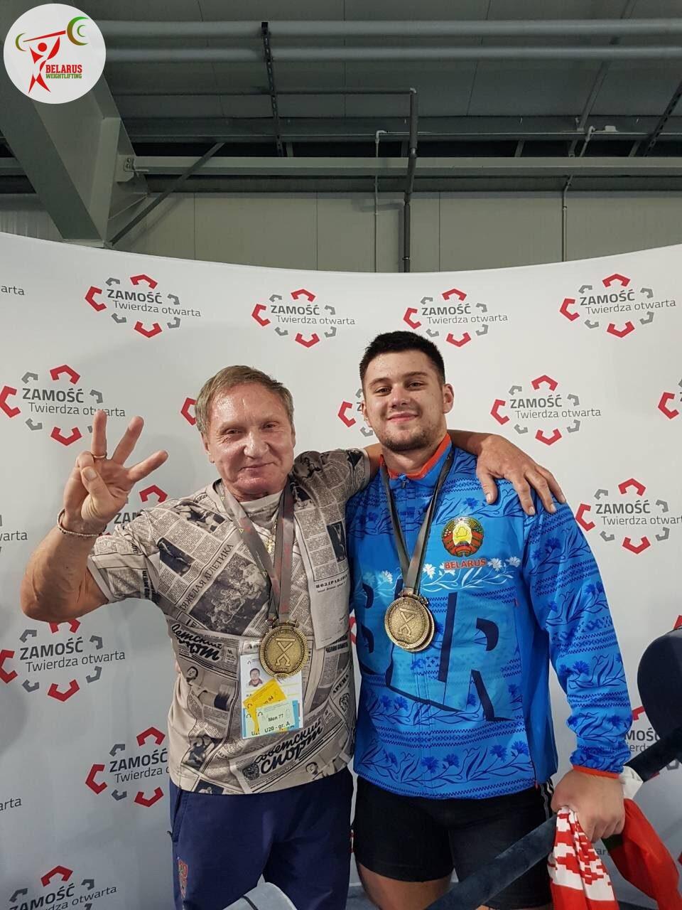 Яўген Тихонцов і Віктар Шершуков