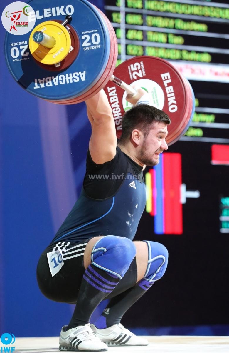 Яўген Тихонцов (В.К 96 кг)