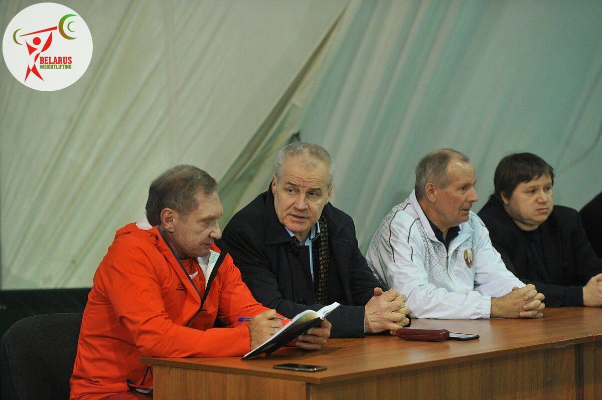Віктар Шершуков, Аляксандр Курловіч, Валянцін Кароткін, Міхаіл Захаранка