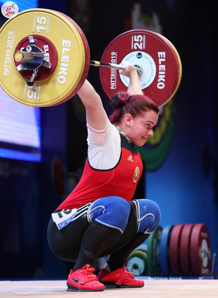Дар'я Наумова - ривок 105 кг