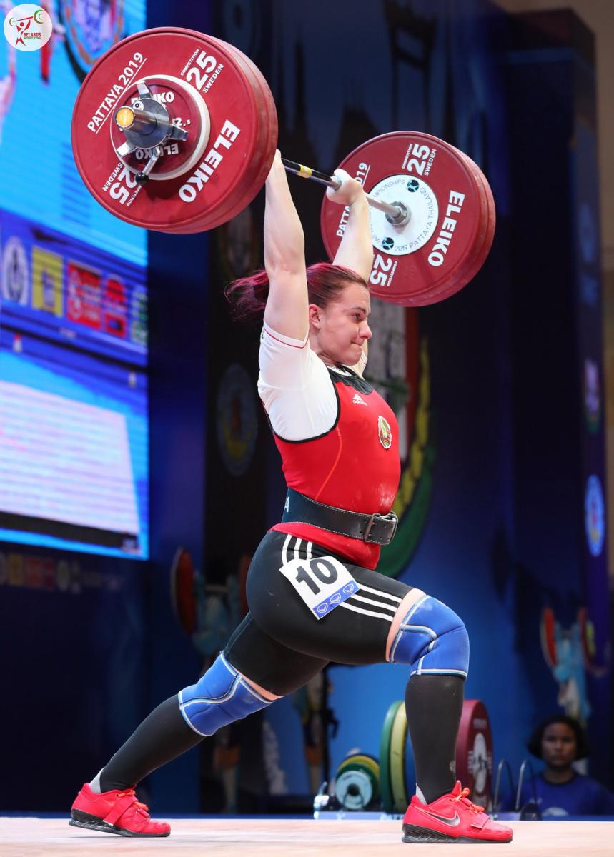 Daria Naumova - Druck 135 kg