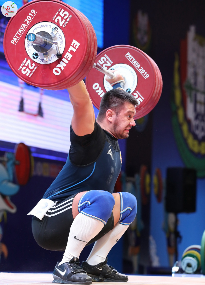 Евгений Тихонцов - рывок 175 кг