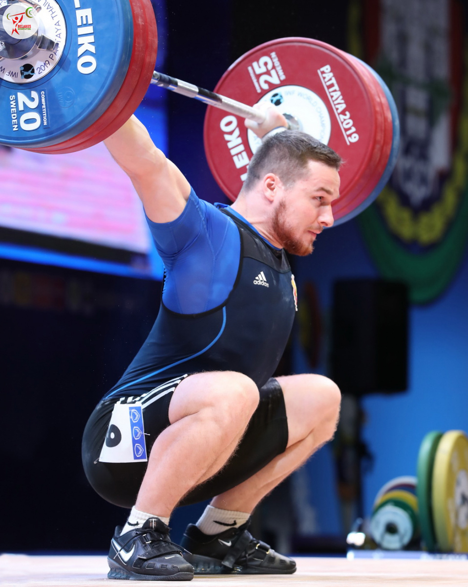 Петро Асаёнок - ривок 165 кг