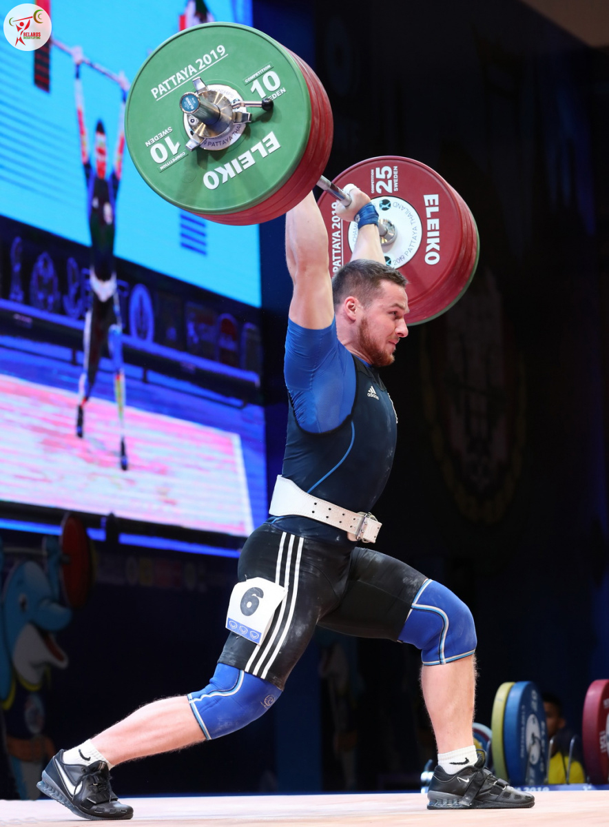 Петро Асаёнок - поштовх 195 кг